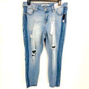 Celebrity Pink Multi Wash Distressed Skinny Jeans